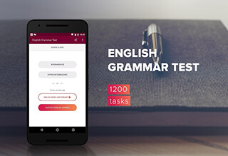 English Grammar Test скриншот 1