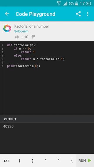 Learn Python скриншот 4
