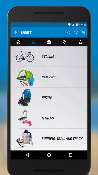 Decathlon скриншот 3