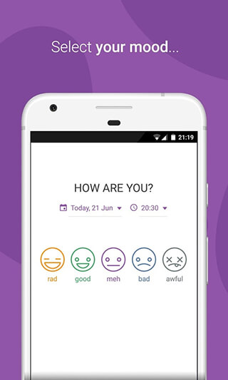 Daylio: Diary, Journal, Mood Tracker скриншот 1