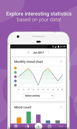 Daylio: Diary, Journal, Mood Tracker скриншот 4