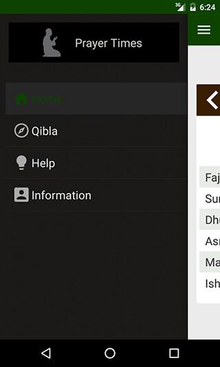 Prayer Times: Qibla and Azan скриншот 2
