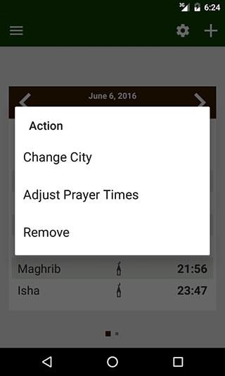Prayer Times: Qibla and Azan скриншот 3