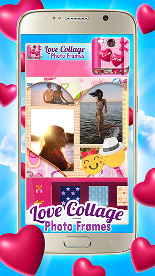 Love Collage Photo Frames скриншот 1