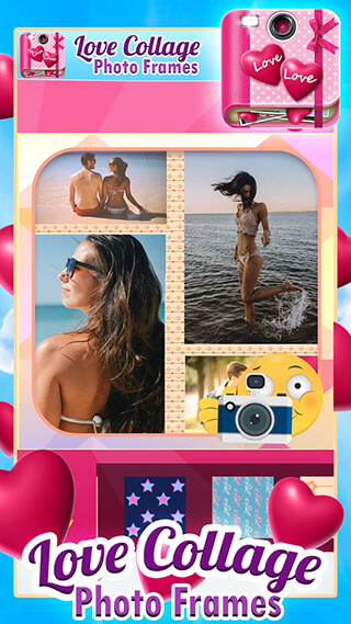 Love Collage Photo Frames скриншот 2
