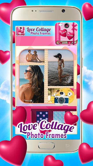 Love Collage Photo Frames скриншот 3