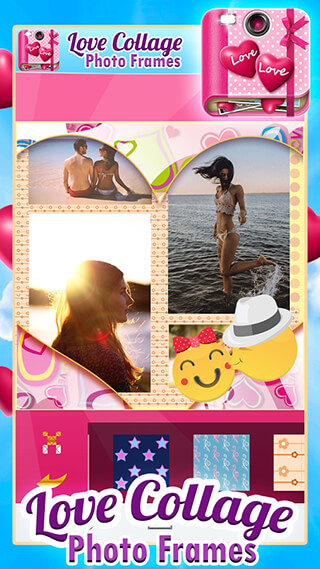 Love Collage Photo Frames скриншот 4