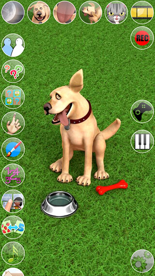 Talking John Dog: Funny Dog скриншот 1
