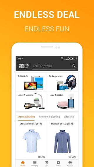 Gearbest Online Shopping скриншот 2