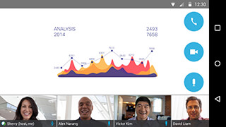 Cisco WebEx Meetings скриншот 2