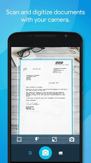 Quick PDF Scanner FREE скриншот 1