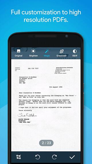 Quick PDF Scanner FREE скриншот 2