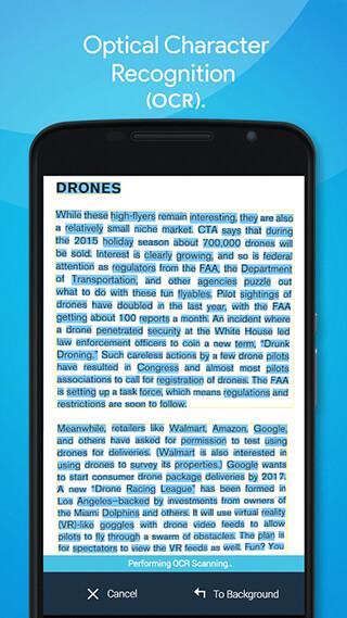 Quick PDF Scanner FREE скриншот 4
