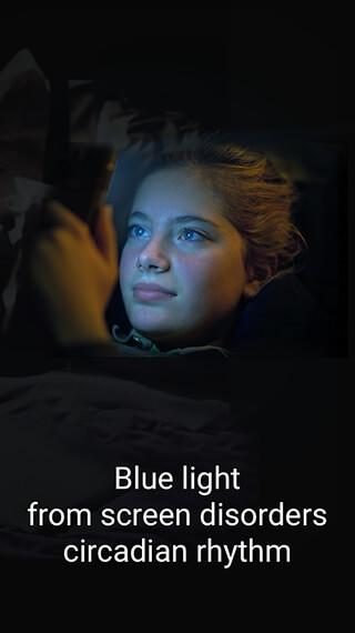 Blue Light Filter: Night Mode, Eye Care скриншот 1