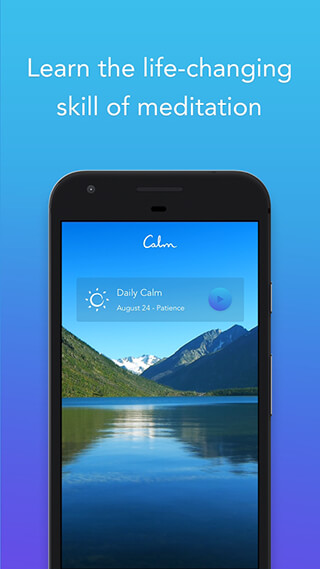 Calm: Meditate, Sleep, Relax скриншот 1