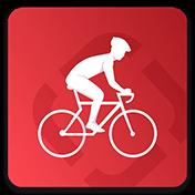 Runtastic Road Bike Cycling GPS Tracker иконка