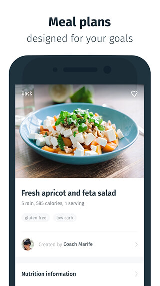8fit: Workouts, Meal Planner and Personal Trainer скриншот 3