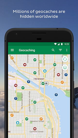 Geocaching скриншот 2
