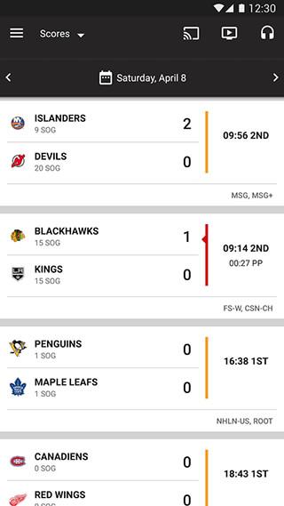 NHL скриншот 2