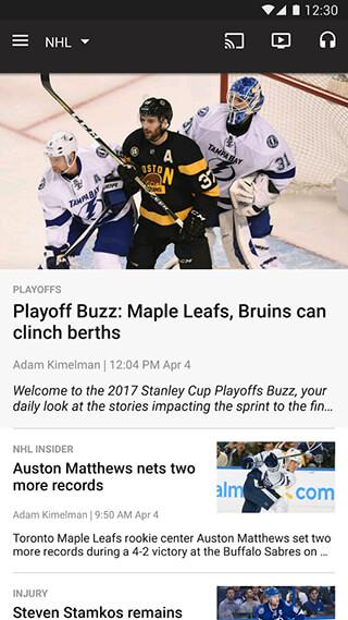 NHL скриншот 4