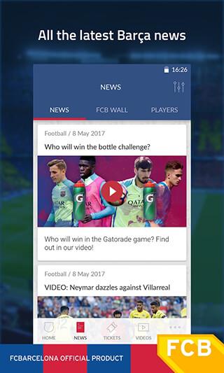 FC Barcelona Official App скриншот 2