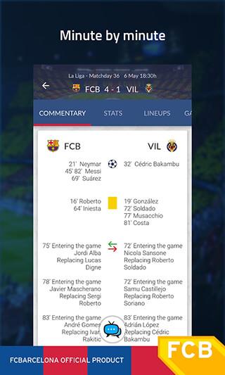 FC Barcelona Official App скриншот 3