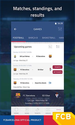 FC Barcelona Official App скриншот 4