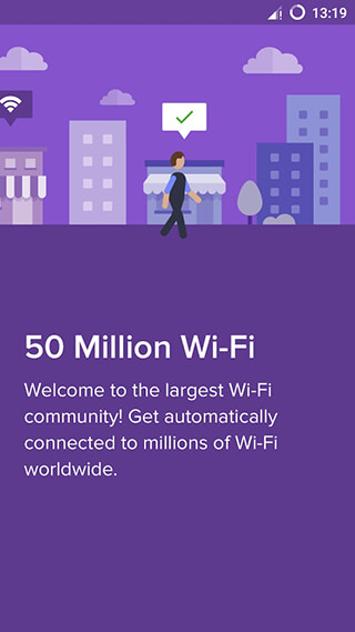 Free WiFi: Wiman скриншот 1