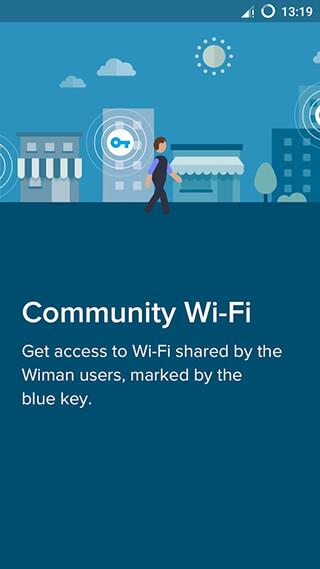 Free WiFi: Wiman скриншот 2