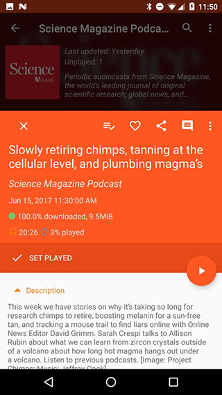 Podcast Republic: Podcast and Audiobook App скриншот 4