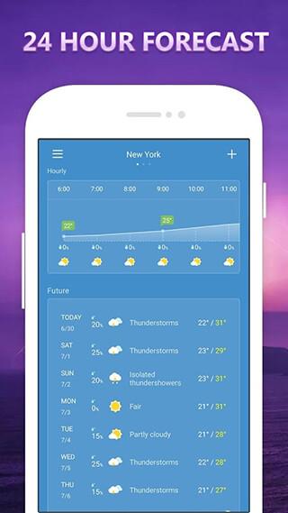 Weather скриншот 2