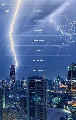 Weather Forecast скриншот 2