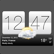 Sense V2 Flip Clock and Weather иконка