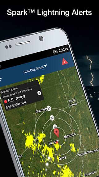 Weather by WeatherBug скриншот 1