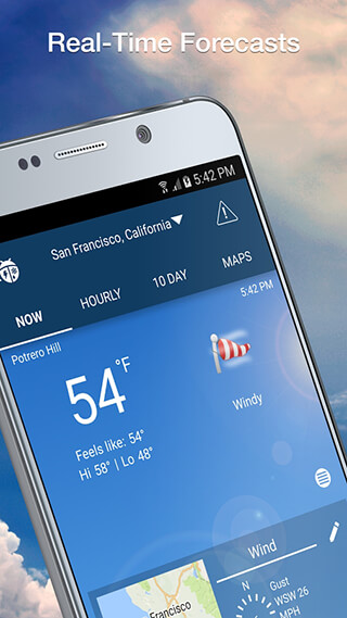Weather by WeatherBug скриншот 2