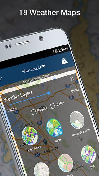 Weather by WeatherBug скриншот 4