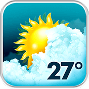 Animated Weather Widget, Clock иконка