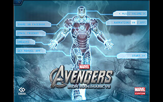 The Avengers: Iron Man Mark VII скриншот 1