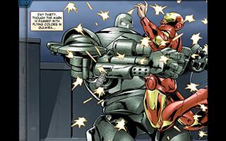 The Avengers: Iron Man Mark VII скриншот 3