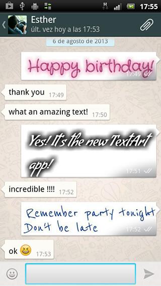 TextArt: Cool Text Creator скриншот 2