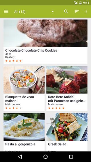 My CookBook: Recipe Manager скриншот 1