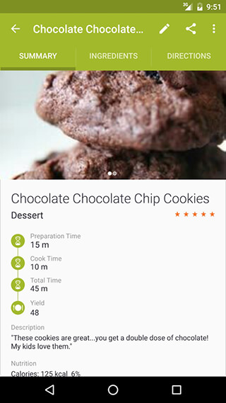 My CookBook: Recipe Manager скриншот 2