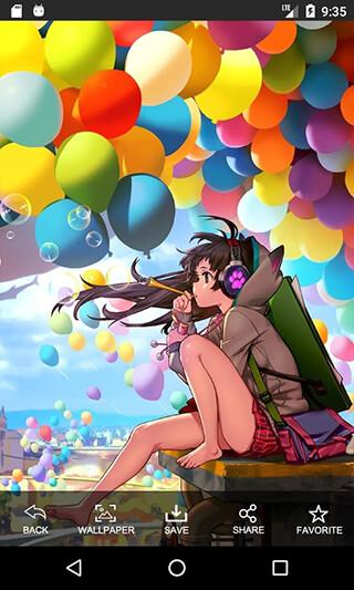 Anime Girl HD Wallpapers скриншот 2