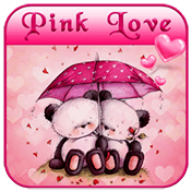 Pink Love Bear Theme иконка