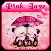 Pink Love Bear Theme иконка
