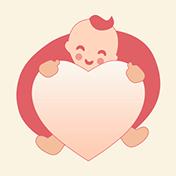 Беременность, поддержка мам рядом: Хэппи Мама иконка
