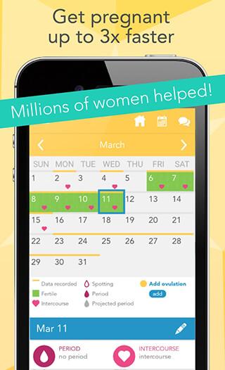 Ovia Fertility Tracker and Ovulation Calculator скриншот 2