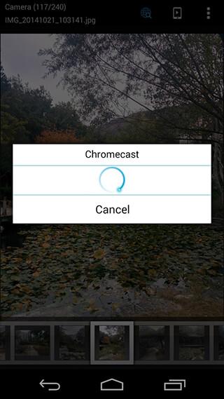 ES Chromecast Plugin скриншот 2