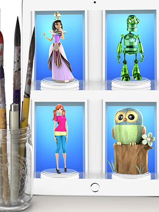 ColorMinis Collection: Making 3D Art Coloring Real скриншот 4