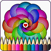 Mandalas Coloring Pages иконка